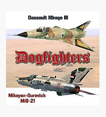 Dogfighters: Mirage vs MiG-21 Photographic Print