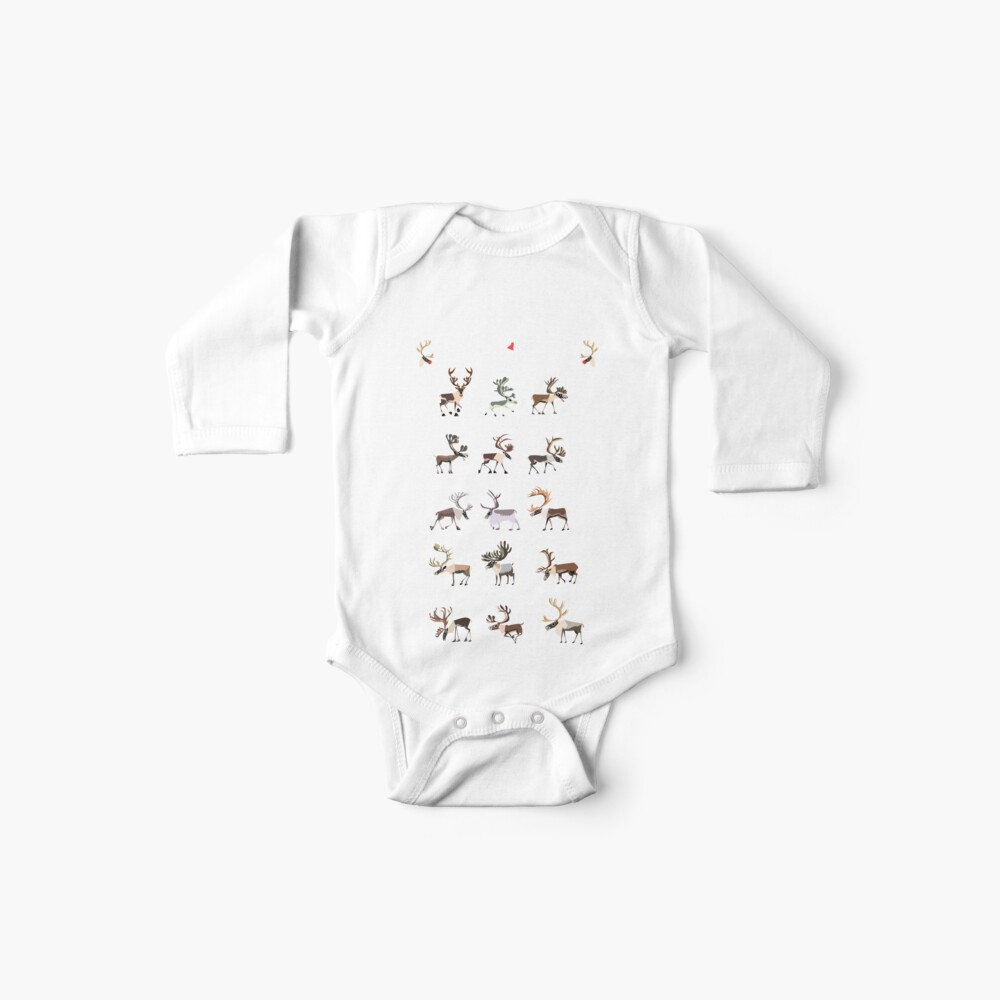 Know Your Reindeer Baby One-Piece