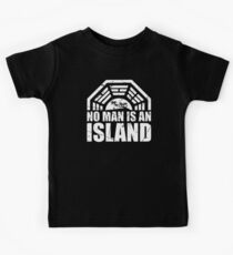 No Man Is An Island Kids Tee
