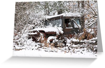 My Dad's Jeep 2 by Carolyn Clark