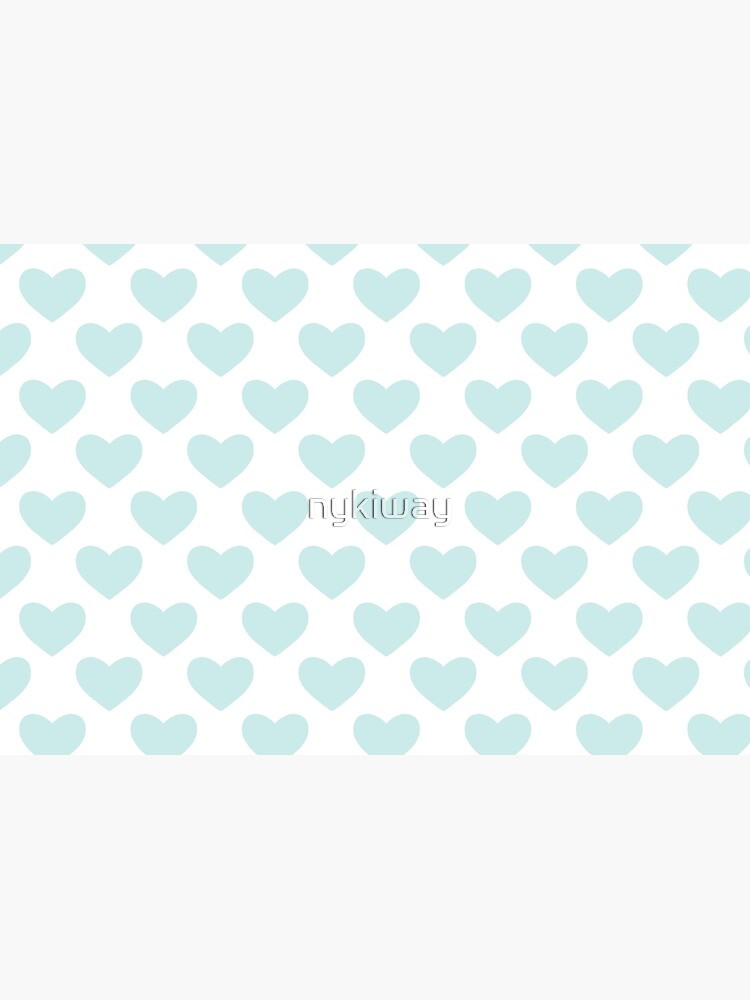Blue Heart Pattern by nykiway