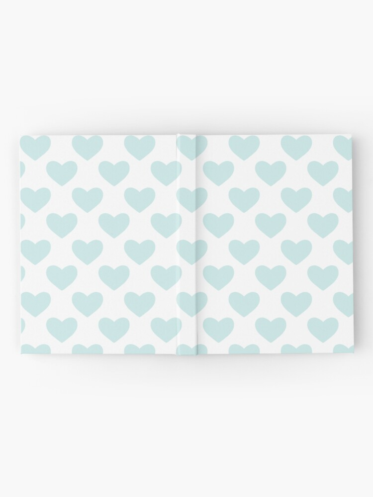Alternate view of Blue Heart Pattern Hardcover Journal