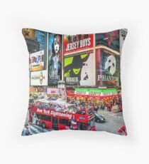 Times Square II Special Edition II Throw Pillow