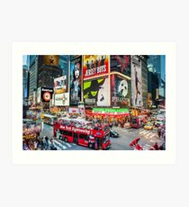 Times Square II Special Edition II Art Print