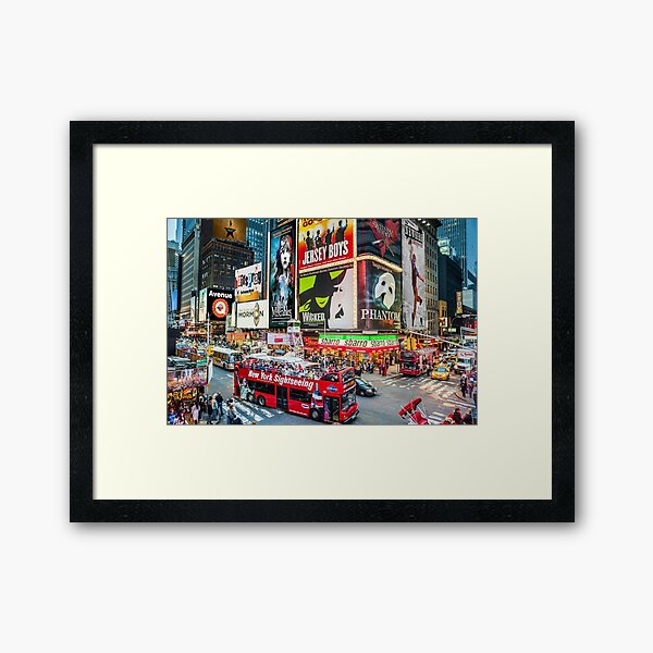 Times Square II Special Edition II Framed Art Print
