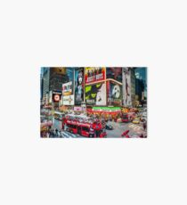 Times Square II Special Edition II Art Board Print