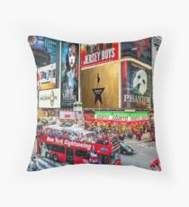 Times Square II Special Edition I Throw Pillow
