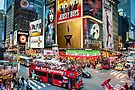 Times Square II Special Edition I by Raymond Warren