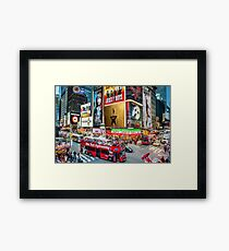 Times Square II Special Edition I Framed Print