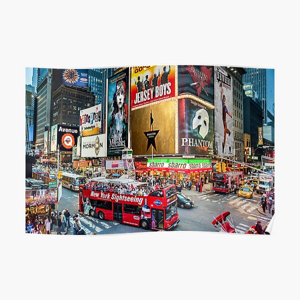 Times Square II Special Edition I Poster