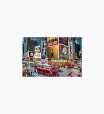 Times Square II Special Edition I Art Board Print