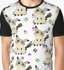Mimikyu PokePuff Design (White) Graphic T-Shirt