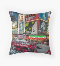 Times Square II widescreen Throw Pillow