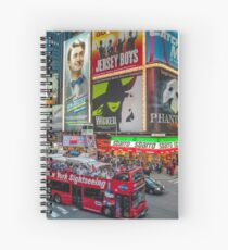 Times Square II widescreen Spiral Notebook
