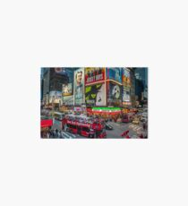 Times Square II widescreen Art Board Print