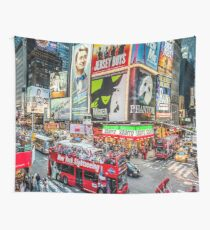 Times Square II widescreen Wall Tapestry