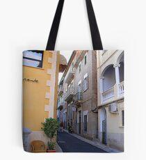 A Side Street In Soller...............................Majorca Tote Bag