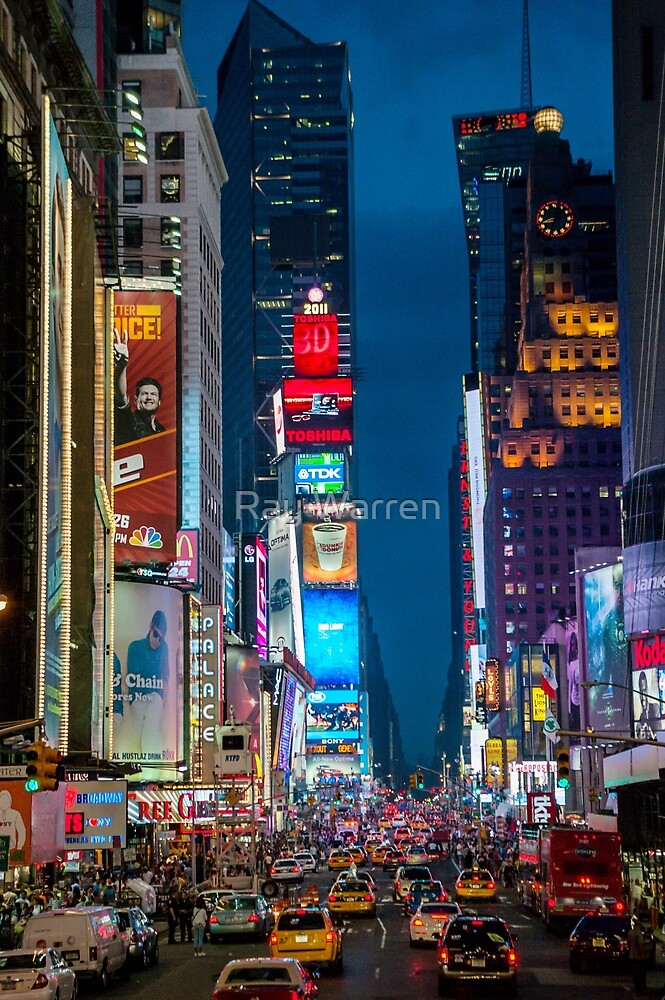Times Square by Ray Warren