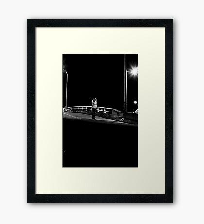 Standing Figure #2 Framed Print