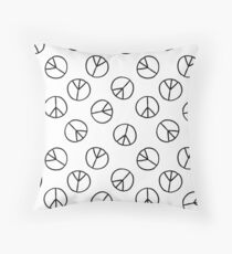 pacific sign Throw Pillow