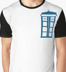 Tardis Minimalist  Graphic T-Shirt