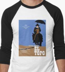 El Topo Classic Movie Poster Men's Baseball ¾ T-Shirt