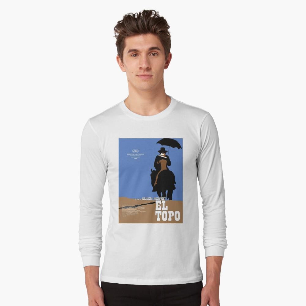 EL Topo Klassisches Filmplakat Langarmshirt