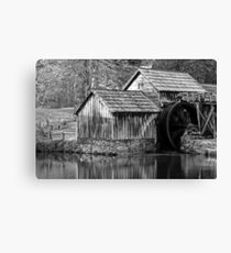 Mabry Monochrome Mill Canvas Print