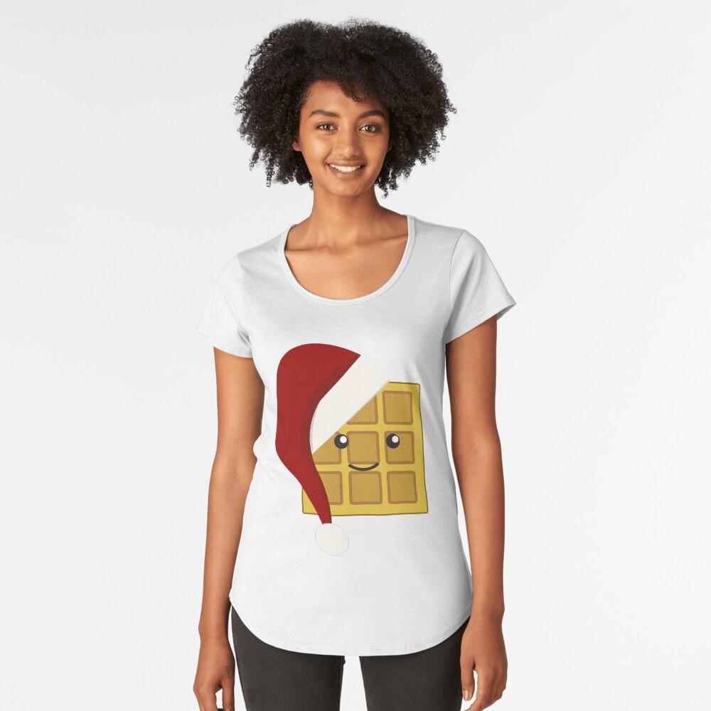 Christmas Waffle Women's Premium T-Shirt