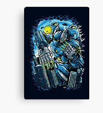 Robotic Mayhem Canvas Print
