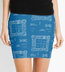 Landlords Game - Elizabeth Lizzie Magie, Inventor - blueprint Mini Skirt
