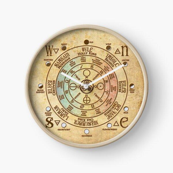 Druid Clock Clock