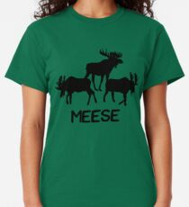 Meese! Funny Moose Lover Shirts Gifts Classic T-Shirt