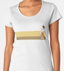 Chell in the Wheatfield Women's Premium T-Shirt
