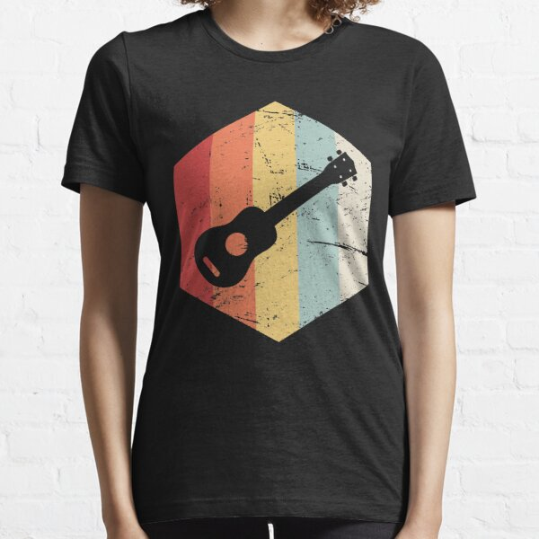 Retro Vintage Ukulele Icon Essential T-Shirt