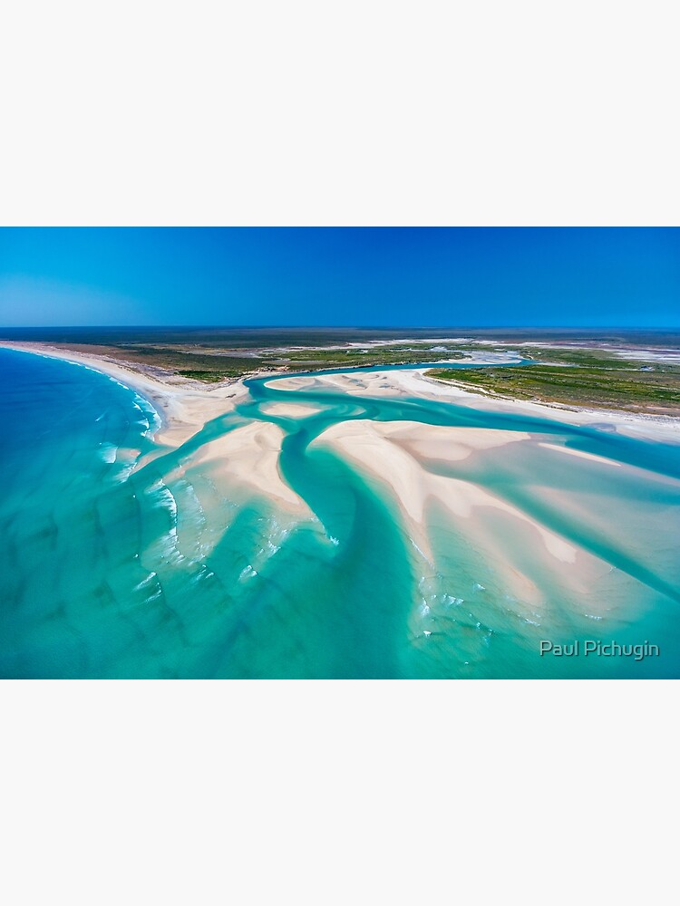 Willie Creek Inlet, Western Australia by paulmp