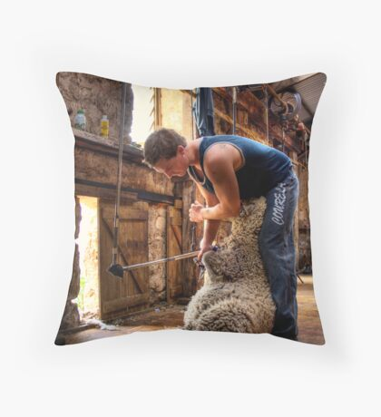 The Shearer Throw Pillow