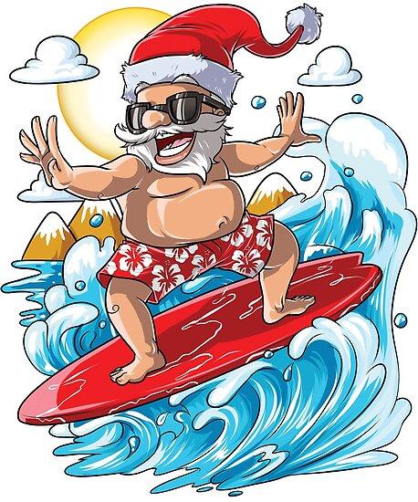 Hawaiian Santa
