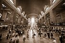 Grand Central Daylight (Sepia edition) by Ray Warren