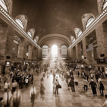 Grand Central Daylight (Sepia) by RayW