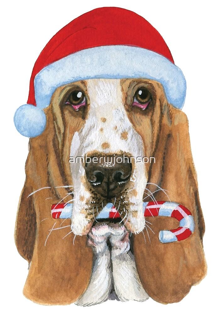 Christmas Basset Hound\