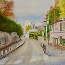 Paris Montmartre in Autumn by Dai Wynn