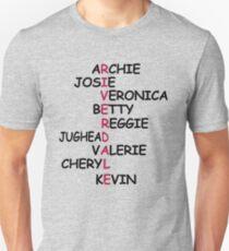 Riverdale Characters Unisex T-Shirt