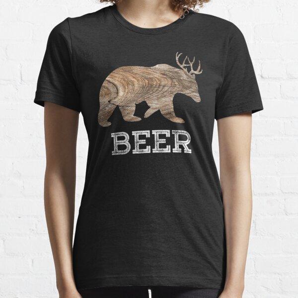 Bear + Deer, Beer Essential T-Shirt
