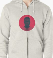 Red Balloon Project Zipped Hoodie