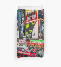 Times Square II Special Edition II Duvet Cover