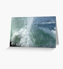 Wave Spout Greeting Card
