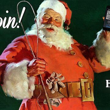 Bitcoin - Ho, Ho, Hodl! by Phneepers