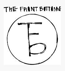 Das Logo der Frontbeine Fotodruck