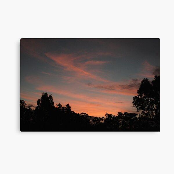 ~Balhannah Sunset~ Canvas Print